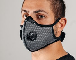 Sport Mask Outdoor Grey Face Mask - Equip
