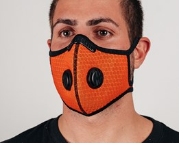 Sport Mask Outdoor Orange Face Mask - Equip