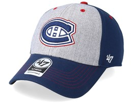 Montreal Canadiens Formation 47 Mvp Grey/Navy/Red Adjustable - 47 Brand