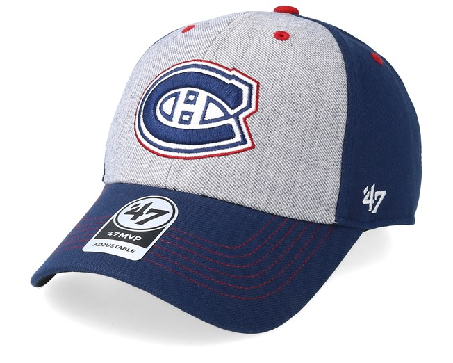 finest selection b7027 6ca1b Montreal Canadiens Formation 47 Mvp Grey Navy Red Adjustable - 47 Brand caps  - Hatstoreaustralia.com