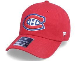 Montreal Canadiens Primary Logo Core Red Dad Cap - Fanatics