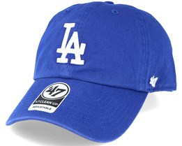 Los Angeles Dodgers 2 Tone Clean Up Royal Blue Adjustable - 47 Brand