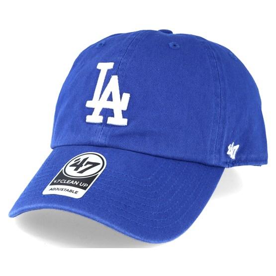 15c98a5771f Los Angeles Dodgers 2 Tone Clean Up Royal Blue Adjustable - 47 Brand caps -  Hatstoreworld.com