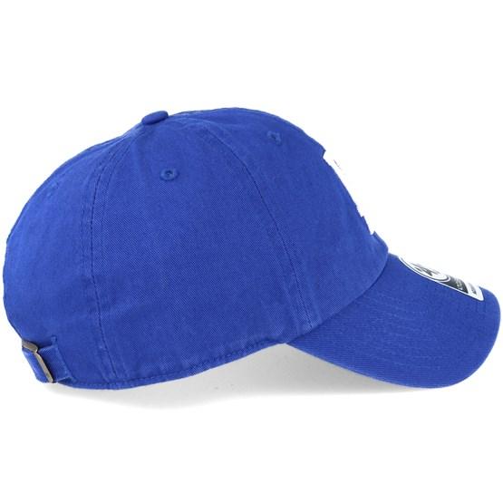 c143746b8 Los Angeles Dodgers 2 Tone Clean Up Royal Blue Adjustable - 47 Brand caps -  Hatstoreworld.com