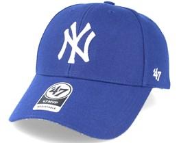 New York Yankees Mvp Royal Blue Adjustable - 47 Brand