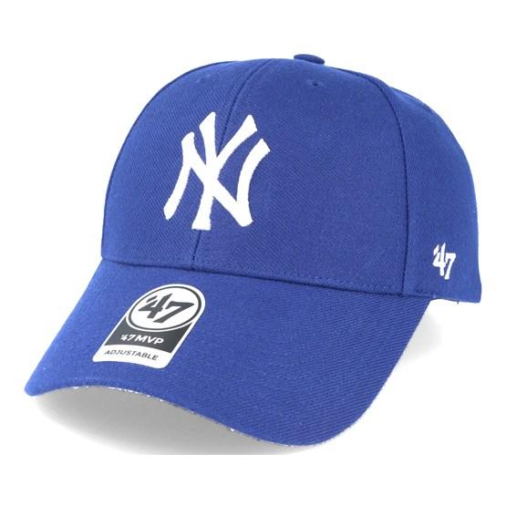 buy online 85c03 d0e1b New York Yankees Mvp Royal Blue Adjustable - 47 Brand caps -  Hatstoreworld.com