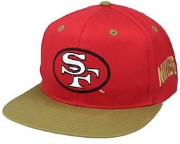 San Francisco 49ers Base Two Tone NFL Vintage Snapback - Twins Enterprise