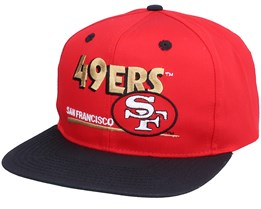San Francisco 49ers Classic NFL Vintage Red/Black Snapback - Twins Enterprise