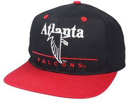 Atlanta Falcons Classic NFL Vintage Black/Red Snapback - Twins Enterprise