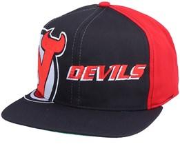 New Jersey Devils Big Logo NHL Vintage Snapback - Twins Enterprise