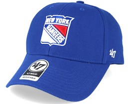 New York Rangers Mvp Navy Adjustable - 47 Brand
