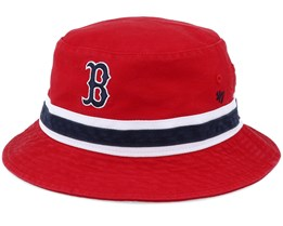 Boston Red Sox Striped Red/NavyBucket - 47 Brand
