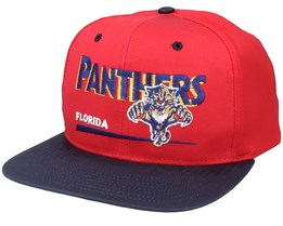 Florida Panthers Classic NHL Vintage Red/Black Snapback - Twins Enterprise