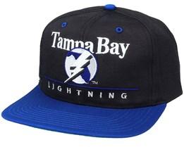 Tampa Bay Lightning Classic NHL Vintage Black/Blue Snapback - Twins Enterprise