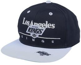 Los Angeles Kings Classic NHL Vintage Black/Grey Snapback - Twins Enterprise