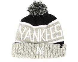 New York Yankees Calgarey Grey/Black Pom - 47 Brand