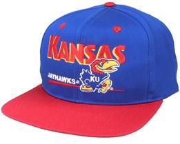 Kansas Jayhawks Classic College Vintage Snapback - Twins Enterprise