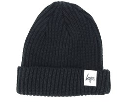 Trawler Hype Basic Black Beanie - Hype