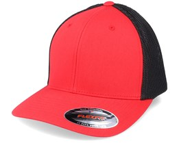 Trucker Mesh 2-Tone Red/Black Flexfit - Flexfit