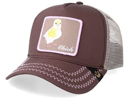 Chicky Boom Brown Trucker - Goorin Bros.