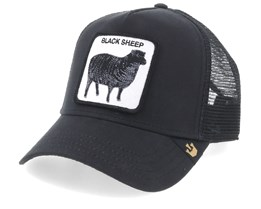 Naughty Lamb Black Trucker - Goorin Bros.