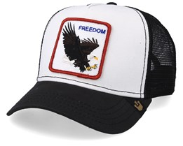 Freedom White/Black Trucker - Goorin Bros.