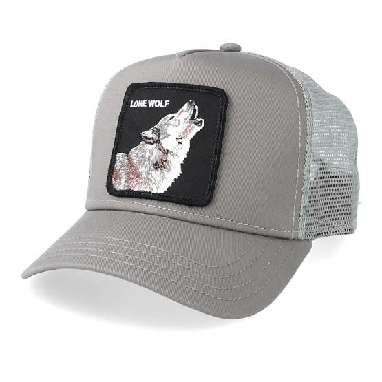 Wolf Grey Trucker Goorin Bros Caps Hatstore Co Uk