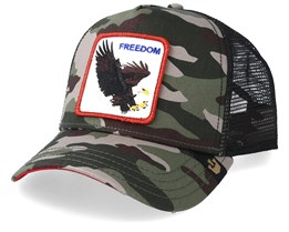 Freedom Camo/Black Trucker - Goorin Bros.