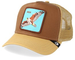 High In The Sky Brown Trucker - Goorin Bros.
