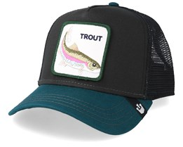 Rainbow Trout Black/Petrol Trucker - Goorin Bros.