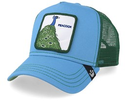 Peacock Blue/Green Trucker - Goorin Bros.
