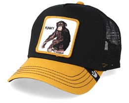 Banana Shake Black/Yellow Trucker - Goorin Bros.