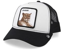 Meow Meow White/Black Trucker - Goorin Bros.