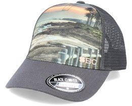 Shoreline 5 Sublimation/Charcoal Trucker - Black Clover
