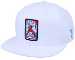Dragon Ball Champion White Snapback - Primitive Apparel