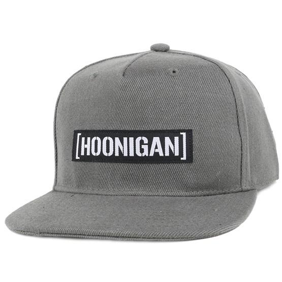 96d72f1ce Casual Censor Bar Charcoal Snapback - Hoonigan