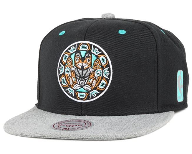 Vancouver Grizzlies Greytist Snapback - Mitchell   Ness caps ... 85c8e245b86
