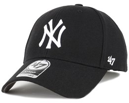 NY Yankees Mvp Black Adjustable - 47 Brand