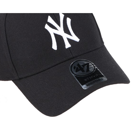 9fc555bb0 NY Yankees Mvp Black Adjustable - 47 Brand cap - Hatstore.co.in