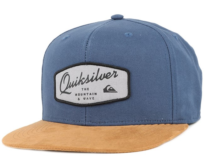 On Top Dark Denim Snapback - Quiksilver caps  edaf5c9120e