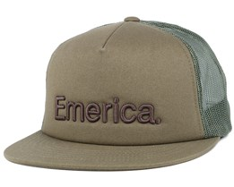 Pure Olive Trucker - Emerica
