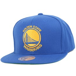 save off b9465 6b976 Mitchell   Ness Golden State Warriors Wool Solid Royal Snapback - Mitchell    Ness CA  39.99