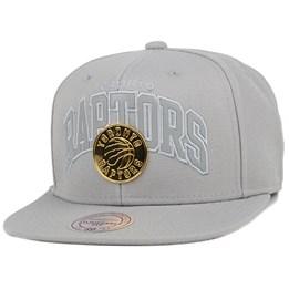 Toronto Raptors Lux Arch Snapback - Mitchell   Ness caps  c5c17cc8e676