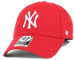 NY Yankees Mvp Red Adjustable - 47 Brand aea879267d9