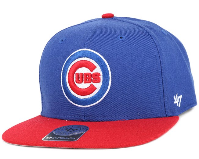 571a854901f Chicago Cubs Sure Shot 2 Tone Blue Red Snapback - 47 Brand caps ...