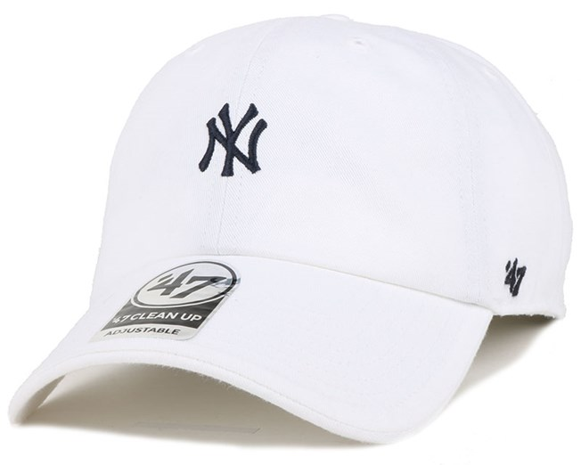 NY Yankees Centerfield Clean Up White Adjustable - 47 Brand caps ... 6569f034af7