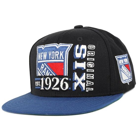 lowest price 8a523 f8462 NY Rangers Org 6 Snapback - Reebok caps - Hatstoreworld.com