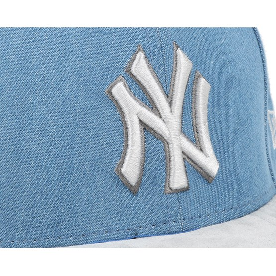 1f54be7d NY Yankees Rustic Light Royal/Grey 9Fifty Snapback - New Era