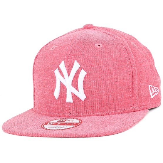 3316bce9c8749 NY Yankees Oxford Lights Scarlet 9Fifty Snapback - New Era cap -  Hatstore.co.in