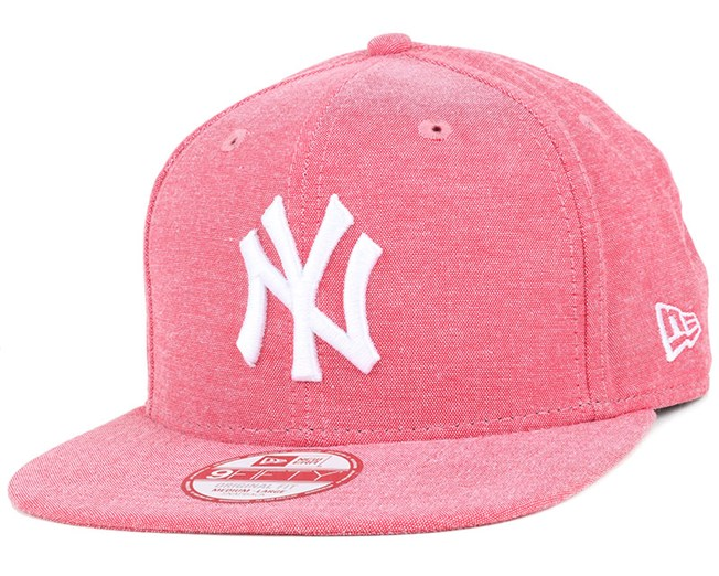 NY Yankees Oxford Lights Scarlet 9Fifty Snapback - New Era caps ... f4f3a43d2a0c